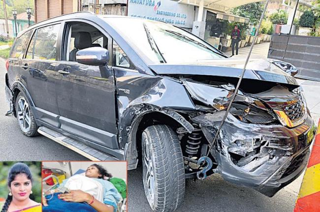 Another death by the drunk and drive - Sakshi