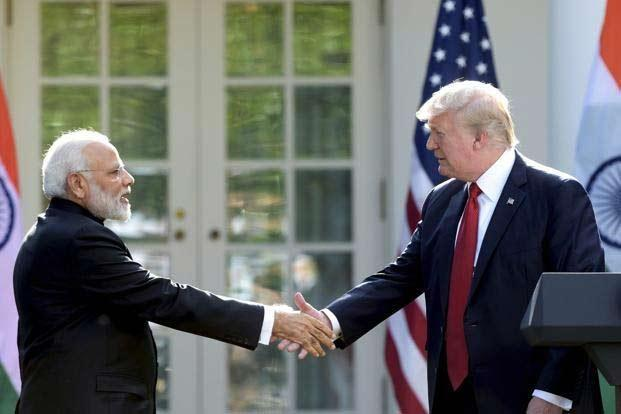 Donald Trump, Narendra Modi discuss situation over phone call - Sakshi
