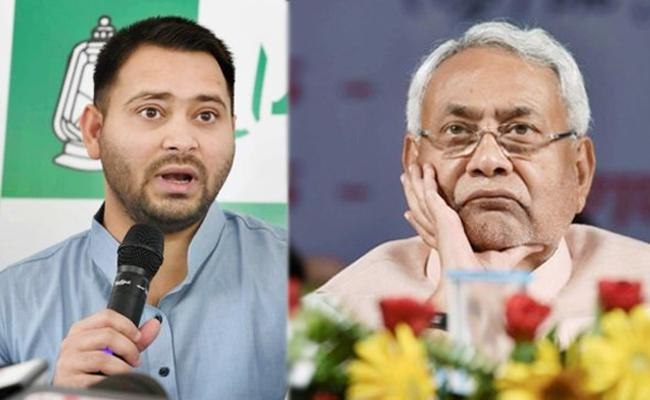 Tejaswi Yadav slams Nitish on By Poll Decision - Sakshi