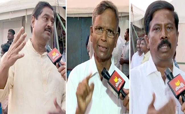 YSRCP Leaders Slams Chandrababu over Special Status - Sakshi