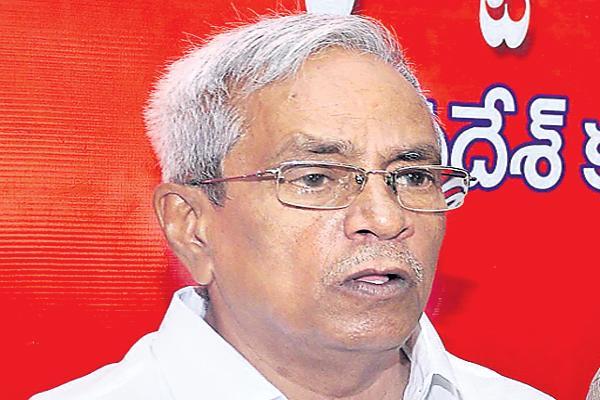 Madhu elected as state secretary - Sakshi