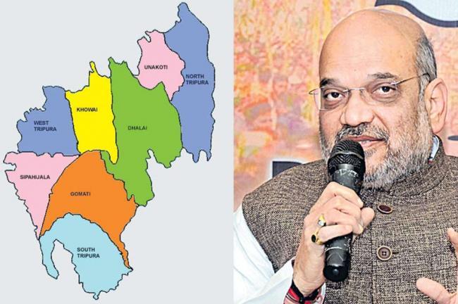 Despite Manik Sarkar, why BJP coalition may oust the Left - Sakshi