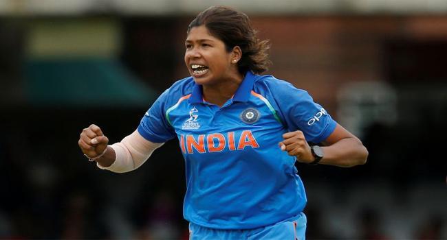 Jhulan Goswami creates history in women cricket - Sakshi