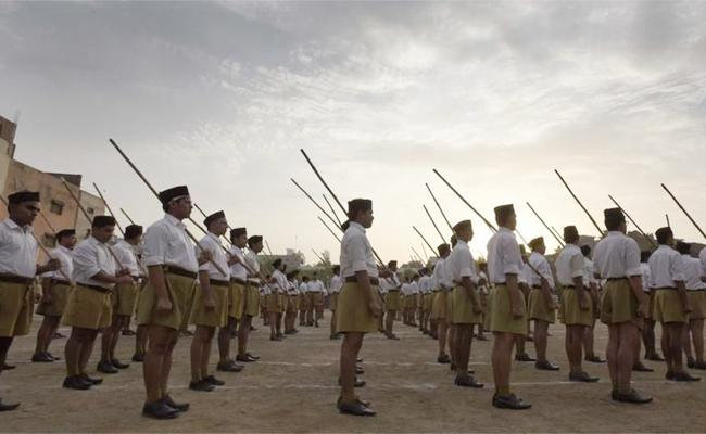 Row erupts as RSS chief Bhagwat Comment on Army - Sakshi