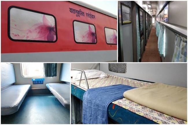 Mumbai-Delhi Rajdhani train gets a makeover - Sakshi
