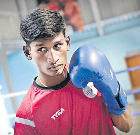 6 Indian boxers in final of Asian Games Test event - Sakshi