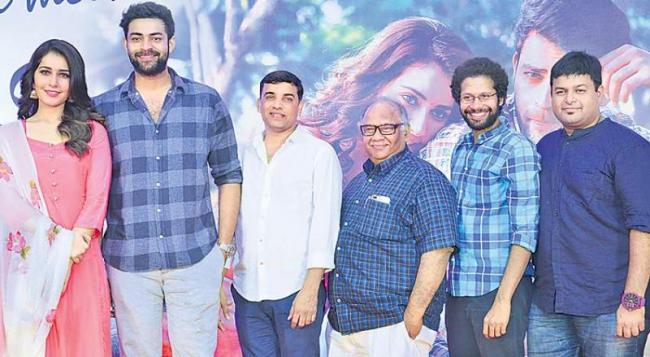 Tholi Prema Movie Success Meet  - Sakshi