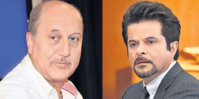 Anupam Kher won't play Anil Kapoor anymore in Bellevue? - Sakshi