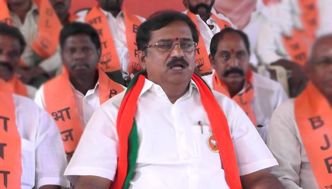 bjp leader suresh reddy fires on tdp leaders - Sakshi