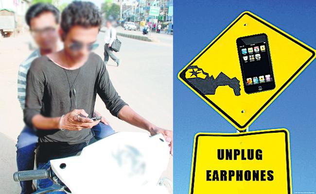 jailed and challan for earphones driving - Sakshi