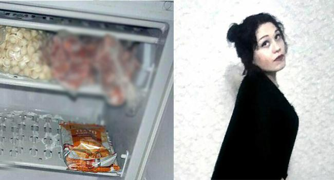Russia Woman killed and stored boy friend body parts in freezer - Sakshi