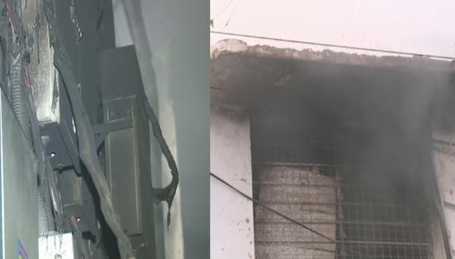 Fire Accident in Printing Press at Niloufer Hospital - Sakshi