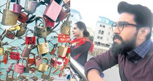 Ramcharan And Upasana Kamineni Valentines Day  - Sakshi