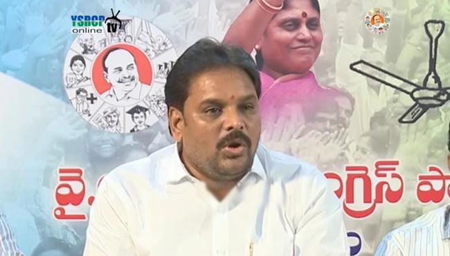 ysrcp leader s fires on ap cm, minister ashok gajapathi raju - Sakshi