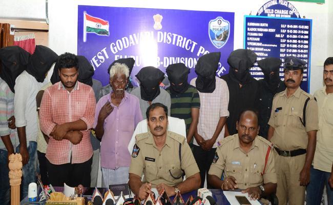 students arrest in marijuna case - Sakshi
