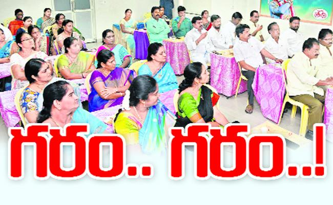 Mayor faces rebellion from own party corporators - Sakshi