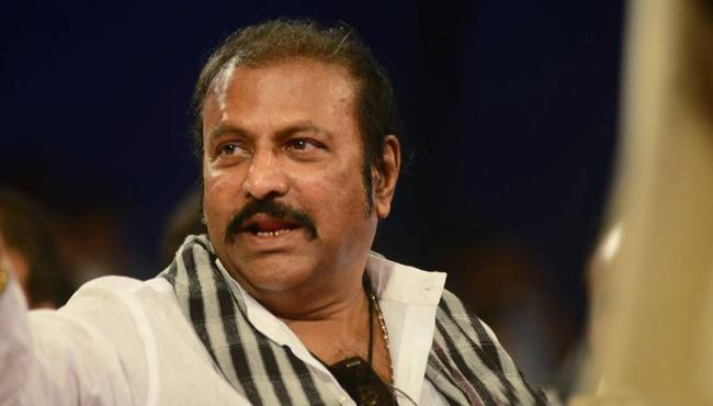 actor Mohan babu reaction for gayatri movie piracy  - Sakshi