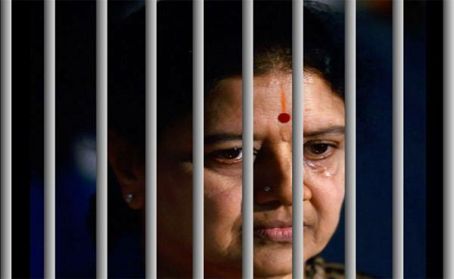 sasikala compleat one year her prison life - Sakshi