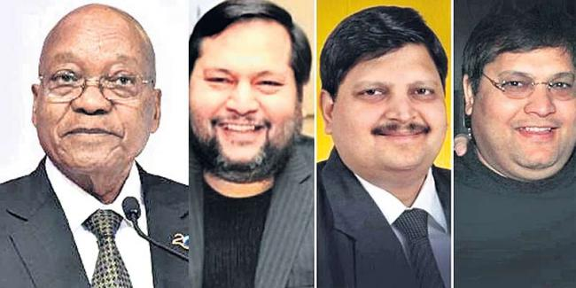 No Gupta family member arrested in South Africa police raids - Sakshi