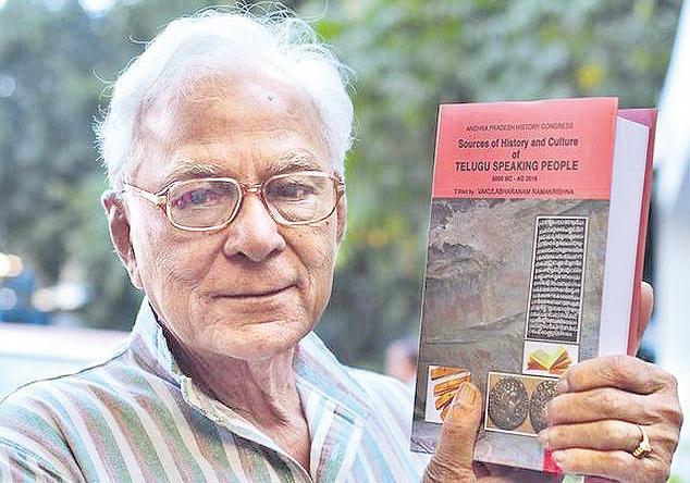 Mallampalli somashekara sherma try hard to find Telugu history - Sakshi