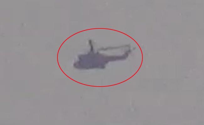 Pak Army chopper flew over terror launchpad - Sakshi