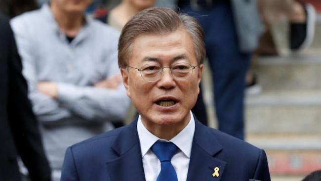 Ready For Talks with North Korea says Moon Jae in - Sakshi