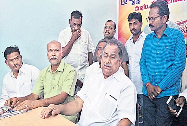 Mudragada comments on Kapu reservations - Sakshi