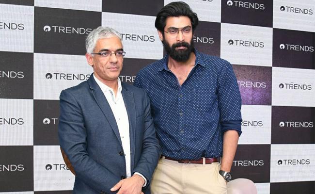 Rana Daggubati turns brand ambassador for Reliance Trends - Sakshi