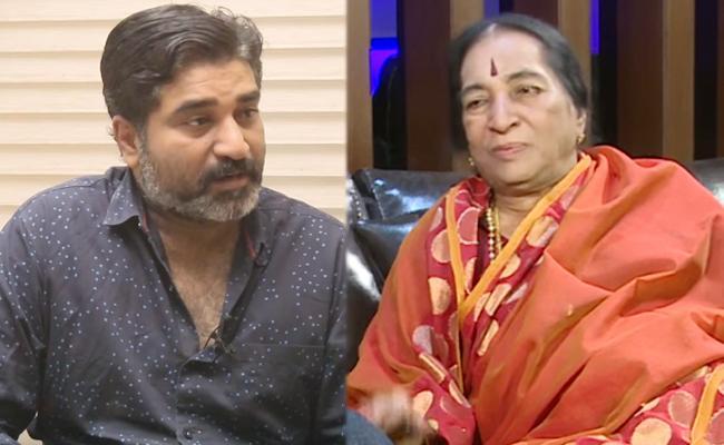 rajeev Kanakala mother passes away - Sakshi