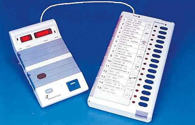 State election commissions opposed central poll body's order on different designs for EVMs - Sakshi