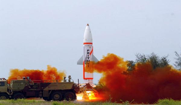 India Successfully Test Fires Nuclear Capable Prithvi 2 - Sakshi