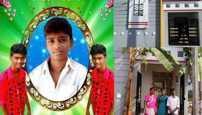 Raghava Lawrence gives new house to Jallikattu protester kin - Sakshi