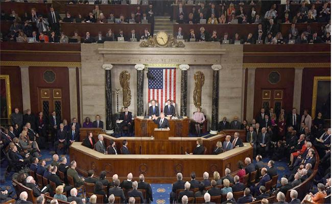 US government shutdown after Congress fails to vote - Sakshi