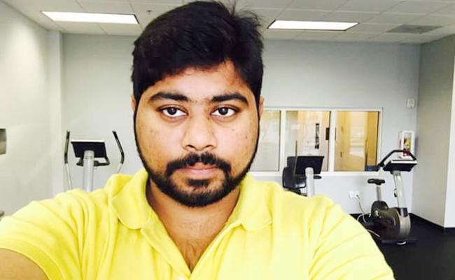 chaithanya kumar dead body today reached machilipatnam from us - Sakshi