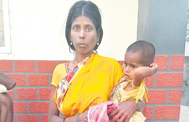 Two months young children sold for Rs 15000 - Sakshi