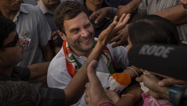 Rahul Gandhi reveals Holi plan, to spend weekend with nani - Sakshi