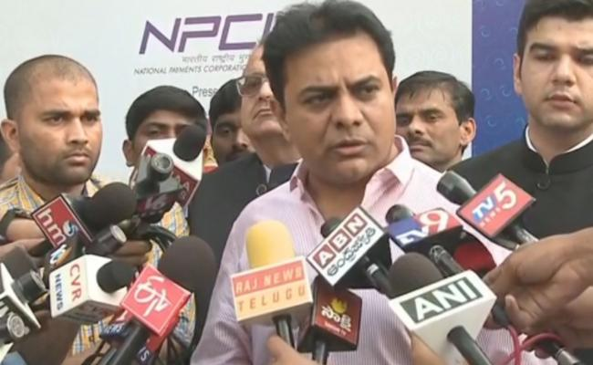 KTR Speaks About Third Front And Criticises BJP And Congress - Sakshi