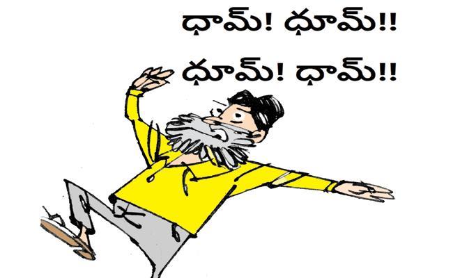 Chandrababu Is Always Follows PM Modi - Sakshi
