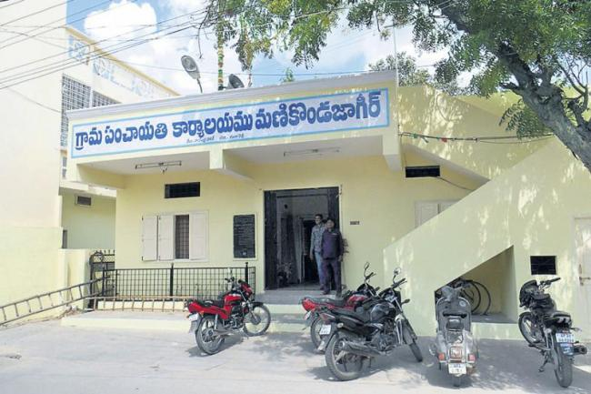 Gram panchayat elections are hard at the deadline - Sakshi