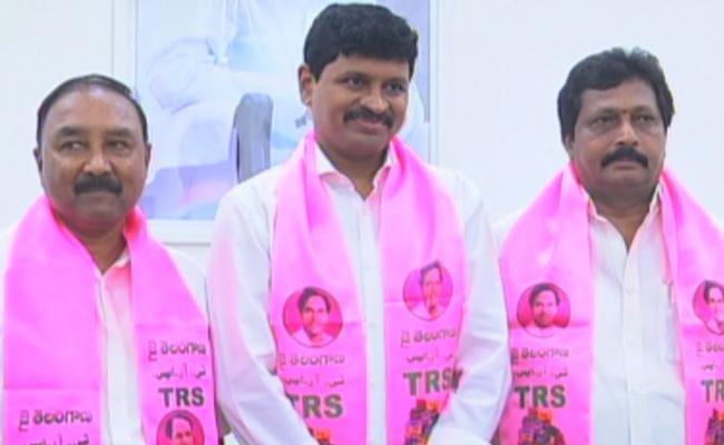 TRS Candidates Filed Nominations For Rajya Sabha - Sakshi