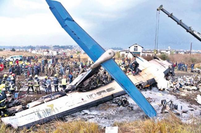 49 dead in US-Bangla plane crash at Kathmandu airport - Sakshi