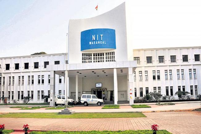 NIT professors fight - Sakshi