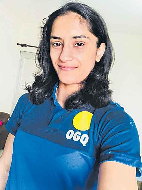 Olympic Gold Quest will be co-owned by Vinay Fogat - Sakshi