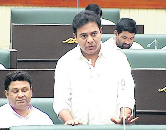 Nothing to fear about summer water supply in Hyderabad, says KTR - Sakshi