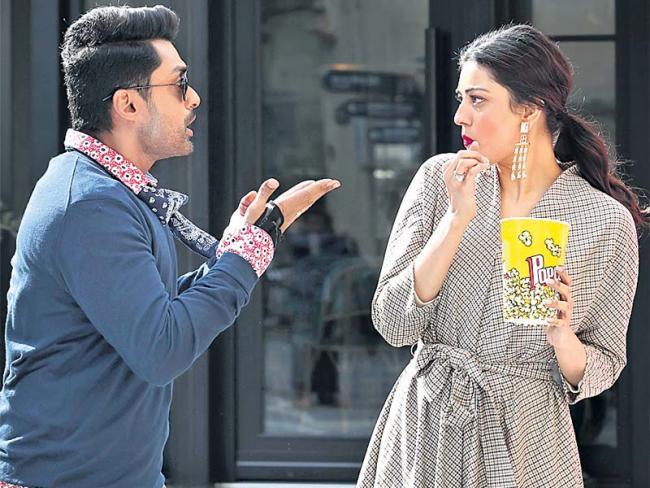 MLA movie press meet  - Sakshi