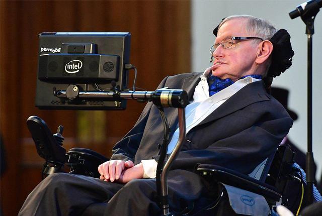 Stephen Hawking Rare and Intelligent - Sakshi