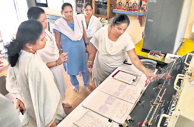 Chandragiri Station is First Women Station In South india - Sakshi