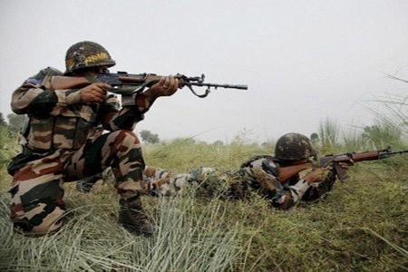 Two Terrorists Killed in Srinagar Encounter - Sakshi