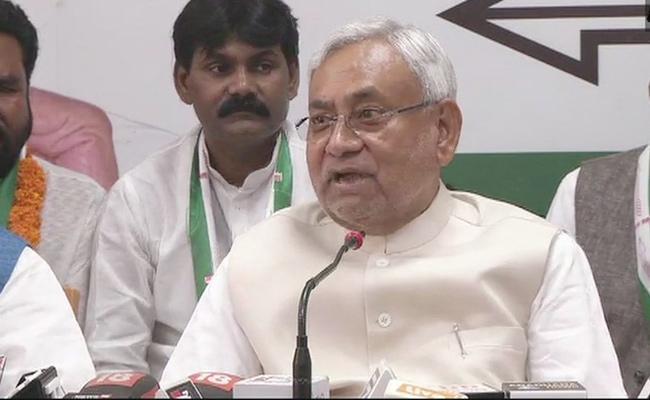 Nitish Kumar on Bihar Special Status Demand - Sakshi