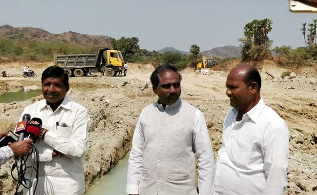 Minister brother is Mining Conductor - Sakshi